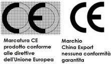 Marcatura CE VS Marchio China Export